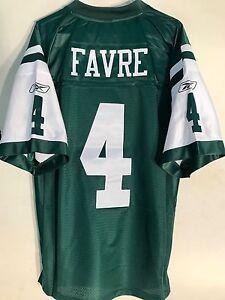 low priced 5fb13 874d7 Reebok Premier NFL Jersey New York Jets Brett Favre Green sz ...