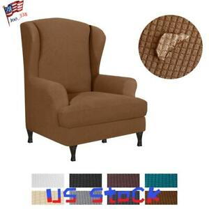 Wingback-Wing-Back-Chair-Cover-Stretch-Armchair-Slipcover-Waterproof-Protector