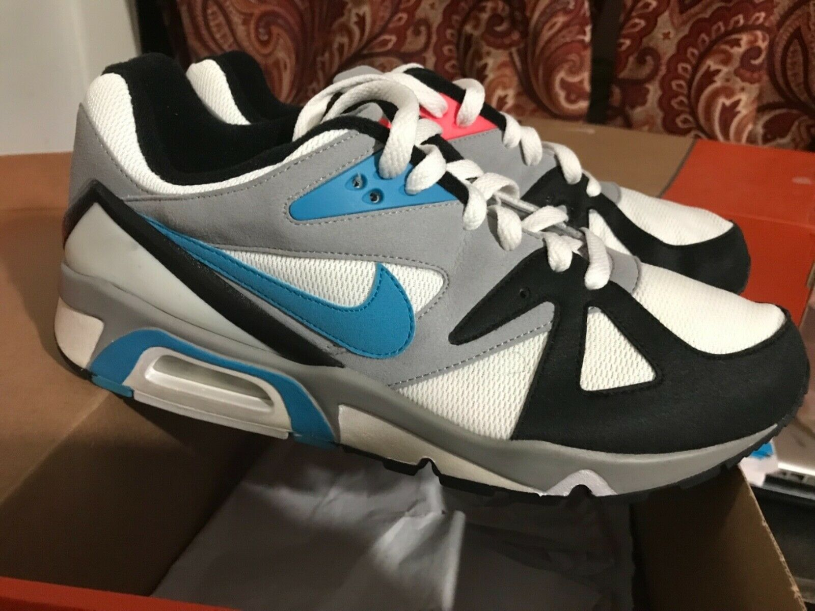 meilleures baskets 2eb1b ba99c Nike Air Structure Triax 91 Mens Size 9 DS Summit White/Black/Teal/Infrared