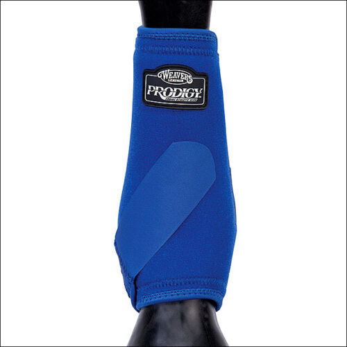 Weaver Prodigy Neoprene Horse Front Protective Athletic Boots  Blue U-8-S2