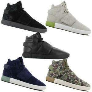 Adidas Originals Tubular Invader Strap Men s Shoes High mid Sneaker ... 8d9a4a49b