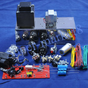 5f1 tweed champ 60s guitar tube amp amplifier kit chassis diy ebay. Black Bedroom Furniture Sets. Home Design Ideas