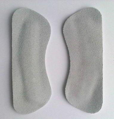 Heel Grips Shoe Liner Back Anti Slip New Leather Suede Ebay