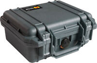 Black Pelican ™ 1200 Case Fits 3 Gopro Hero5 4 3+ 3 2 Black Silver + Bonus