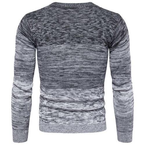 Herren Pullover Pulli Sweater Strickpullover Strickjacke Sweatshirt Warm Tops DE