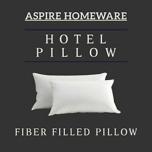 Pack-of-2-Luxury-Pillows-Super-Bounce-Hollow-Fiber-Filled-Hotel-Pillow