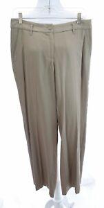 Tommy-Bahama-Sz-6-Womens-100-Tencel-Khaki-Chino-Wide-Leg-Pants-Slacks-Beige