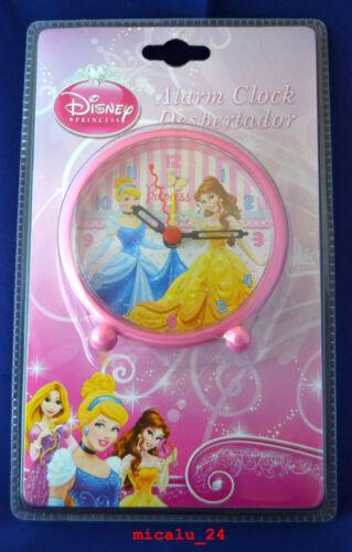 Disney Princess Alarm Wecker Kinderwecker Lernwecker Analog Uhr NEU OVP
