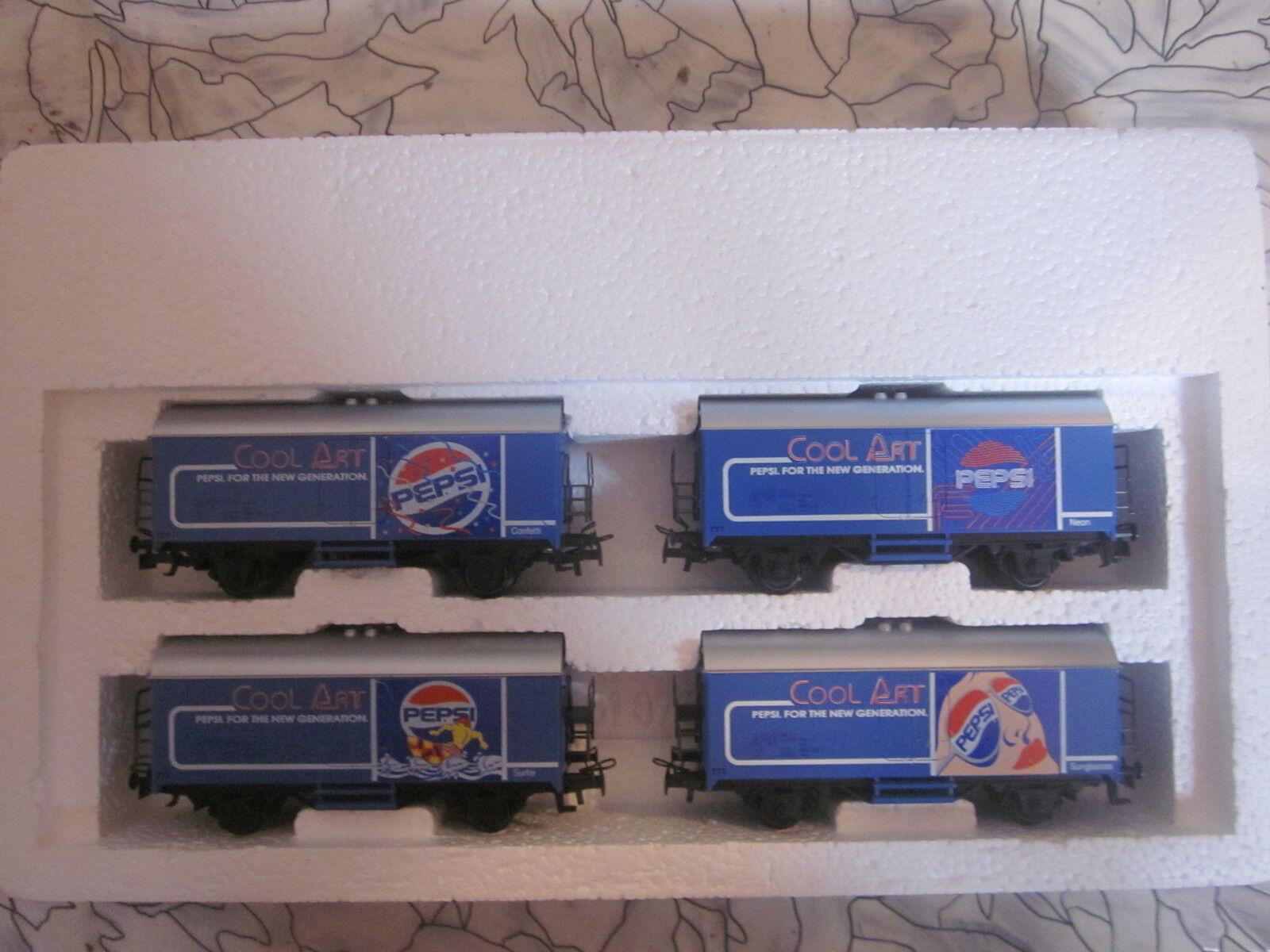 HO art.nr:84400 Wagenset  Pepsi