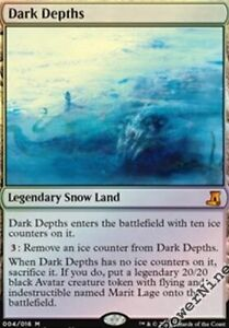 MTG DARK DEPTHS FOIL from the vault lore