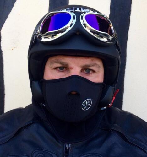 Cagoule de protection en néoprène couleur Noir NEUF { ski snow surf péche moto