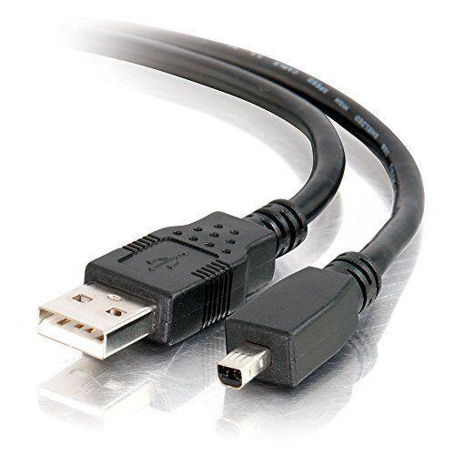 für  Kodak DX 7630 USB-Kabel Type A 1,8 m Mini B 4pin