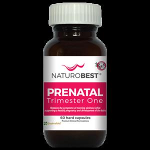 NaturoBest Prenatal Trimester One Pregnancy Vitamin (60 Capsules)