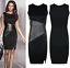 Womens-Ladies-Sleeveless-Bodycon-Bandage-Party-Cocktail-Casual-Midi-Pencil-Dress