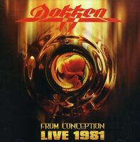 Dokken - From Conception: Live 1981 [new Cd] on Sale