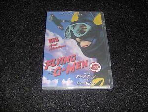 FLYING G-MEN CLIFFHANGER SERIAL 15 CHAPTERS 2 DVDS