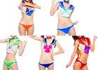 Sexy Women's Cosplay Underwear Bra Sets Costume Panty Lingerie Bikini