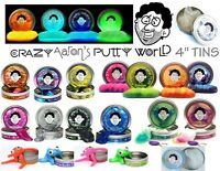 Crazy Aaron's Putty 4 Tin U Pick Stress Therapy Autism Office Desk Toy Fun