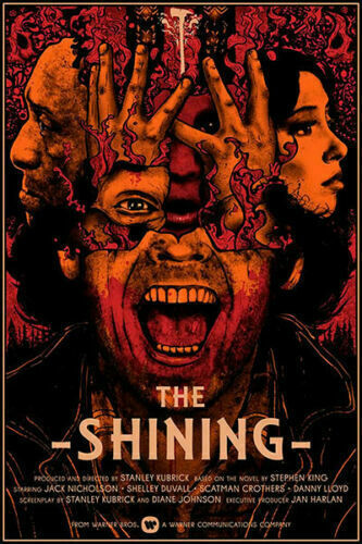 New The Shining Classic Horror Movie Cool T-396 Silk Fabric Poster