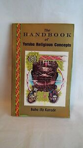 Details about The Handbook of Yoruba Religious Concepts by Baba Ifa Karade