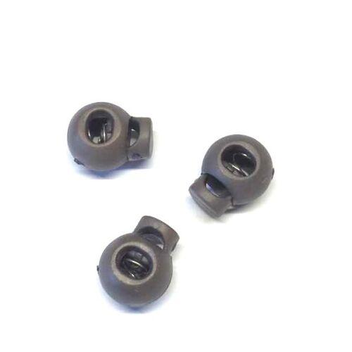 Farben Kunststoff Kordelstopper für Kordeln bis 4 mm Durchmesser div 4 Stk
