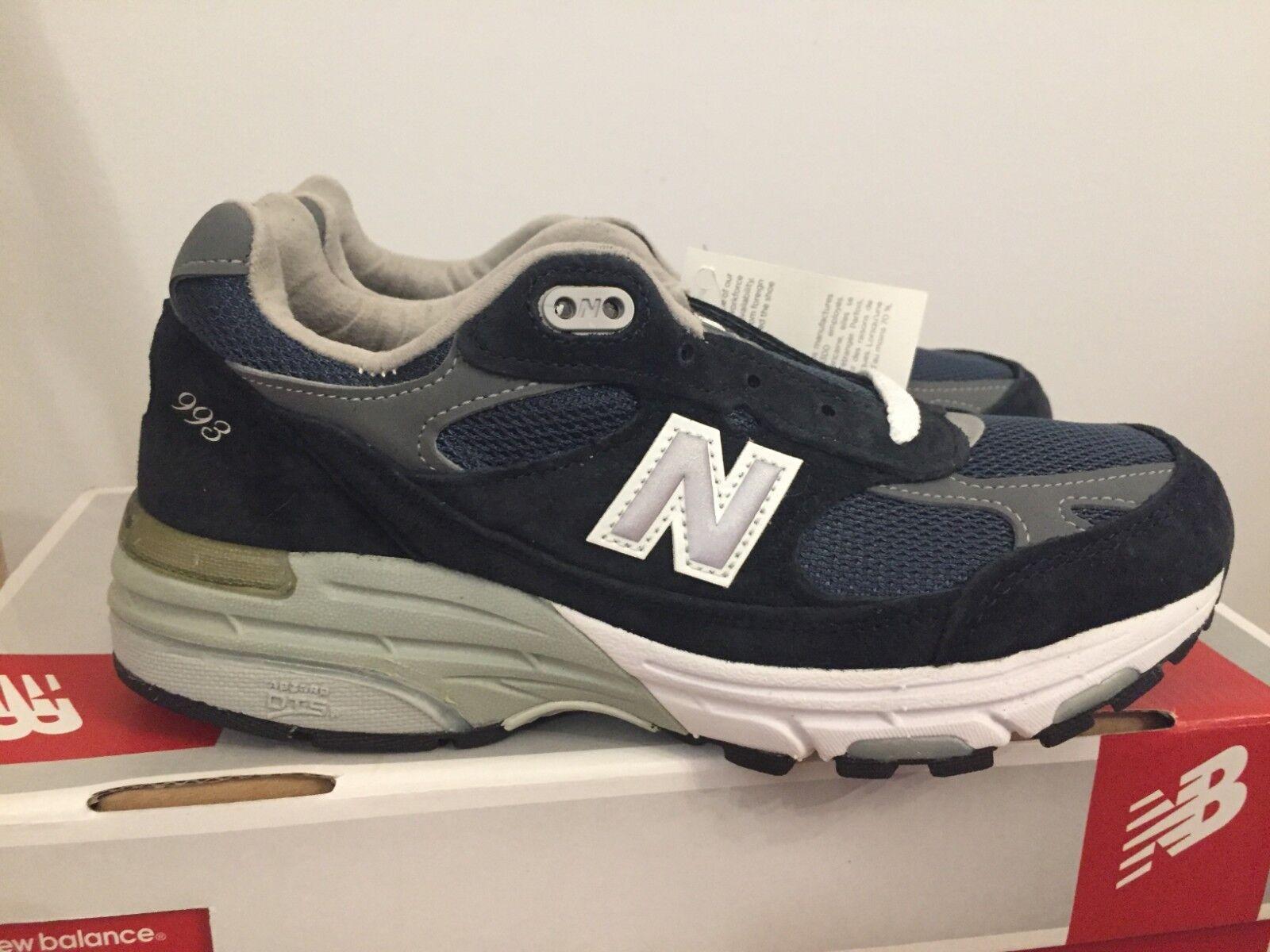 New New New Balance Women's Classics 993 Running shoes -Navy 536479