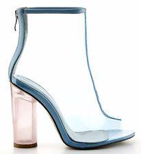 Transparent Thigh High Boots