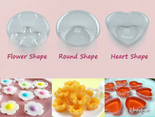 1000 Cups Clear Plastic Jelly Mold Dessert Thai Flower Small Size Accessories