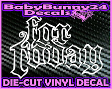 For Today Car Truck Laptop Vinyl Decal Sticker Rock Metal Tour
