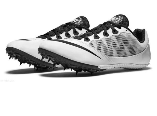 newest 9fbdc 4e391 NEW Nike Zoom Rival S 7 Running Track Spike Shoes Mens 13 White 616313-170