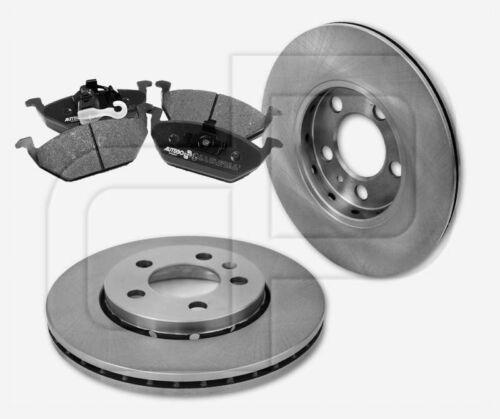 4 Bremsbeläge SKODA Octavia 1U vorneVorderachse 256 mm 1LQ 2 Bremsscheiben