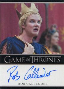 * Ania Bukstein as Kinvara Bordered Game of Thrones Season 7 Autograph Card