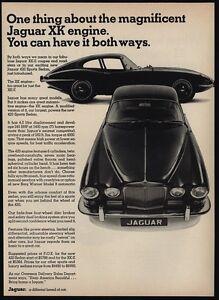 Image Is Loading 1967 JAGUAR XKE 420 Sports Car XK Engine