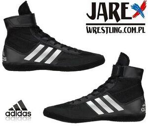 ADIDAS Combat Speed 5 Wrestling Chaussures Bottes Noir Boxe MMA