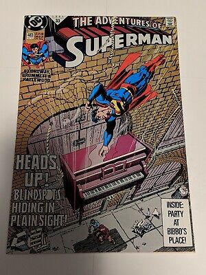 The Adventures Of Superman #487 February 1992 DC Comics Ordway Grummett
