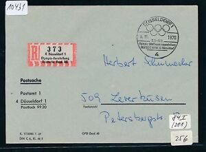 10431) Spécial R-ticket De Düsseldorf Olympia-exposition Dt. Bank Ag Postsache 1970-llung Dt.bank Ag Postsache 1970fr-fr Afficher Le Titre D'origine