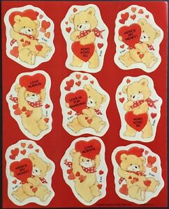 Valentine's Day Vintage Stickers Mint Condition!! American Greetings