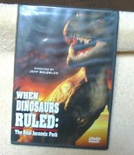 WHEN DINOSAURS RULED THE REAL JURASSIC PARK (DVD 2000) 3D Animation