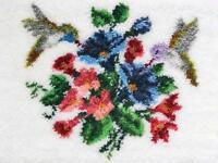 Mcg Textiles 37755 Hummingbirds Latch Hook Rug Kit, New, Free Shipping