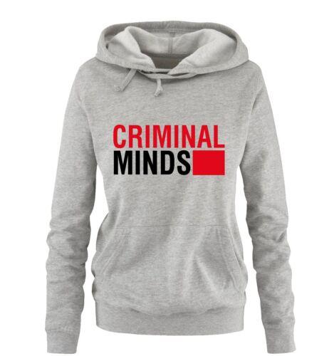 Farben Gr Damen Hoodie CRIMINAL MINDS S-XL Versch Comedy Shirts