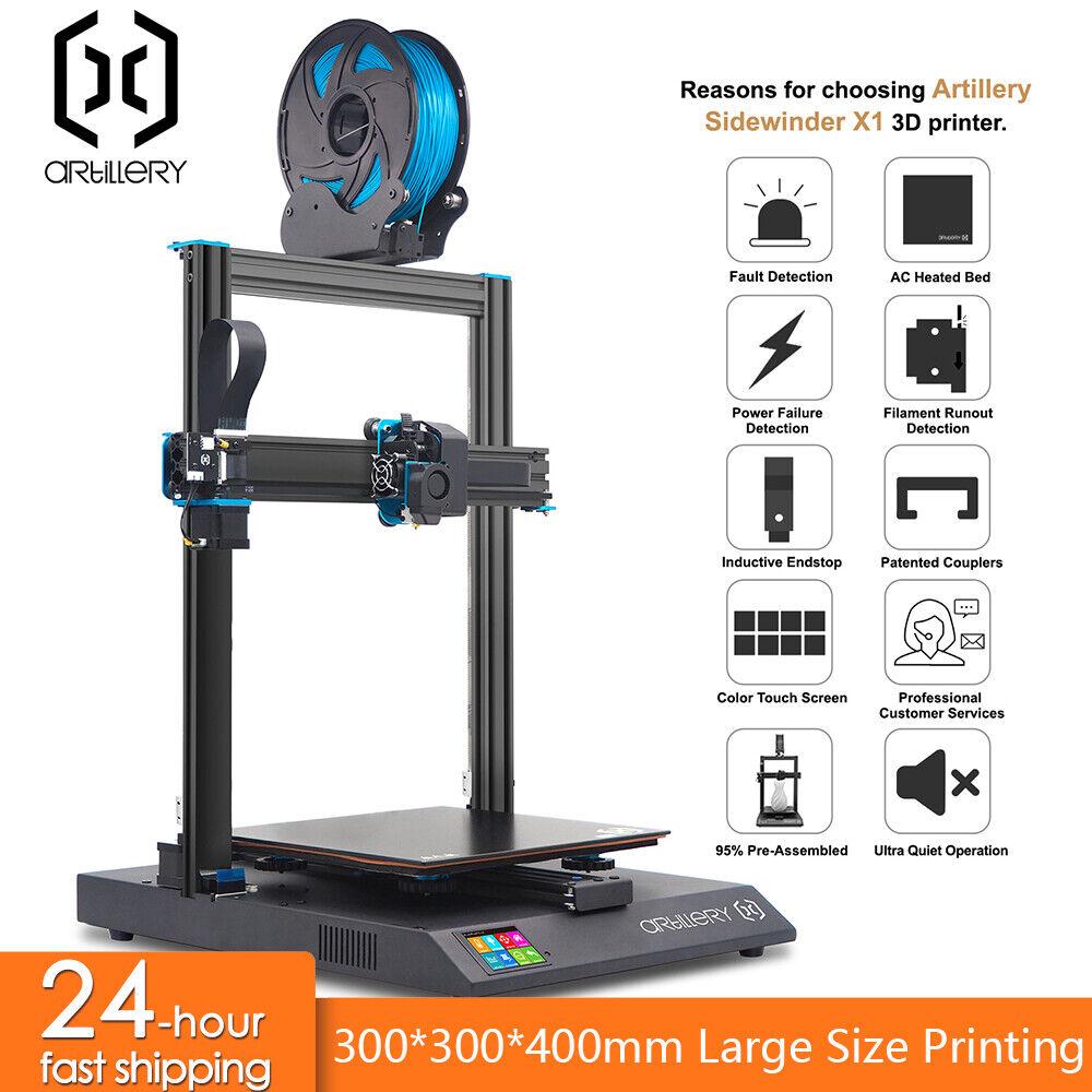 Artillery 3D Printer High Precision Resume Print Touchscreen 300*300*400mm DIY NOW £307.99 @ eBay