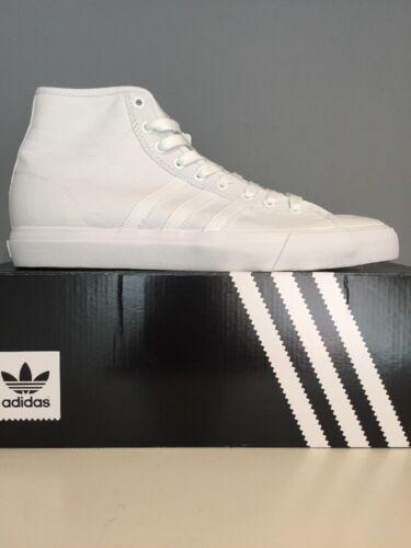 11 Chaussures Adidas Matchcourt Taille Bnib Pleine Running Blanc Rx High wZHv8f