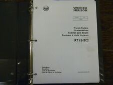 Wacker Neuson Rt82 Sc2 Vibratory Trench Roller Compactor Parts Catalog Manual