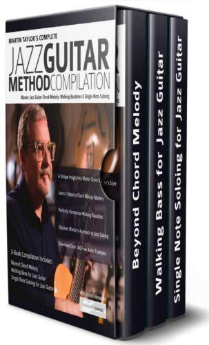 Audio Martin Taylor/'s Complete Jazz Guitar Method Compilation