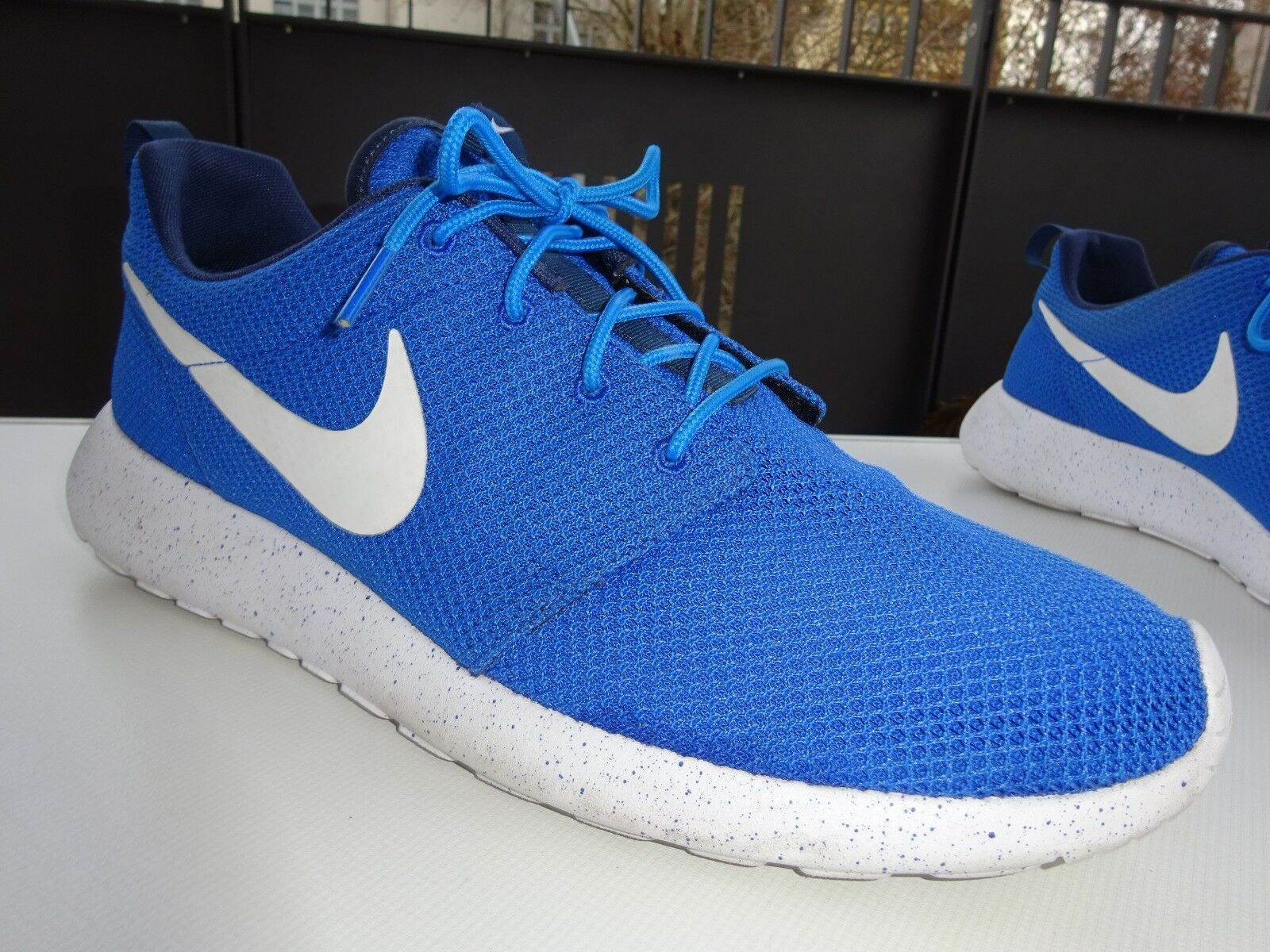 ad281756d7eb0f NIKE 943711-991 Roshe 1 Run Selfie Lauf Sneaker Textil blue Gr.47
