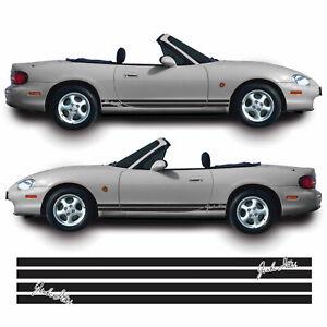Jinba-Ittai-JDM-Side-Stripes-For-Mazda-MX5-Miata-MK2-NB-Vinyl-Decal-Sticker