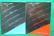 2 catalogues vente enchères DROUOT 1988 tableaux bijoux argenterie art deco