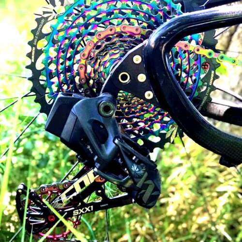 KCNC SXX1 MTB Cycling Bike Oversized Pulley Wheel Cage for Sram Eagle X01 Gold