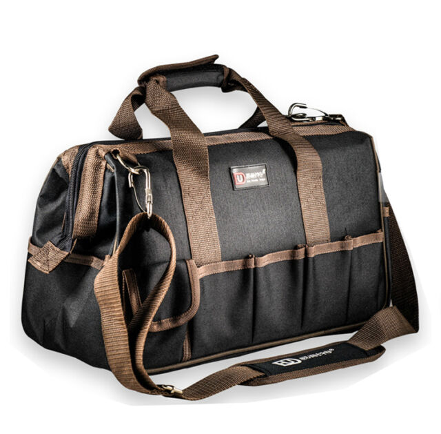 "Heavy Duty Nylon Canvas Mechanic Electrician Tool Bag 3 Size 12"" 14"" 16"""