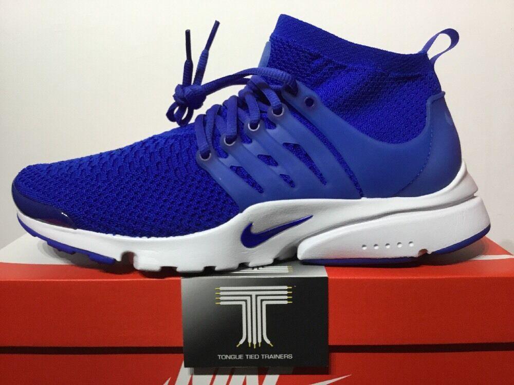 Nike Air Presto Flyknit Ultra ~ 835570 400 ~ Royaume-Uni Taille 9